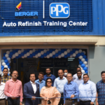 Berger launches Auto-Refinishing Booth and Training Facility for auto-painters in Bangladesh